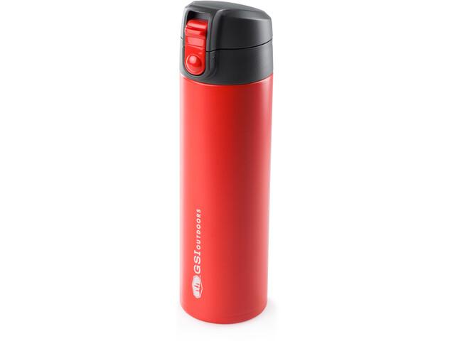 GSI Microlite 500 Flip Bottle, red